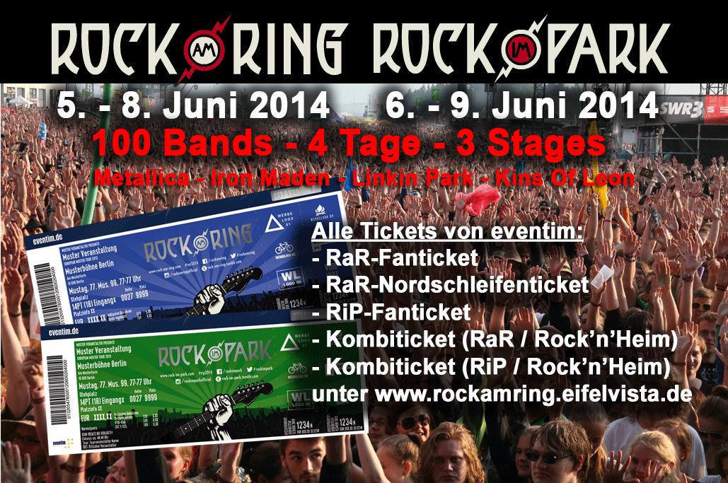 RAR-Festival-Tickets zum Vorzugspreis nur noch bis 28. Februar – Warnung vor Drittanbietern von Eintrittskarten