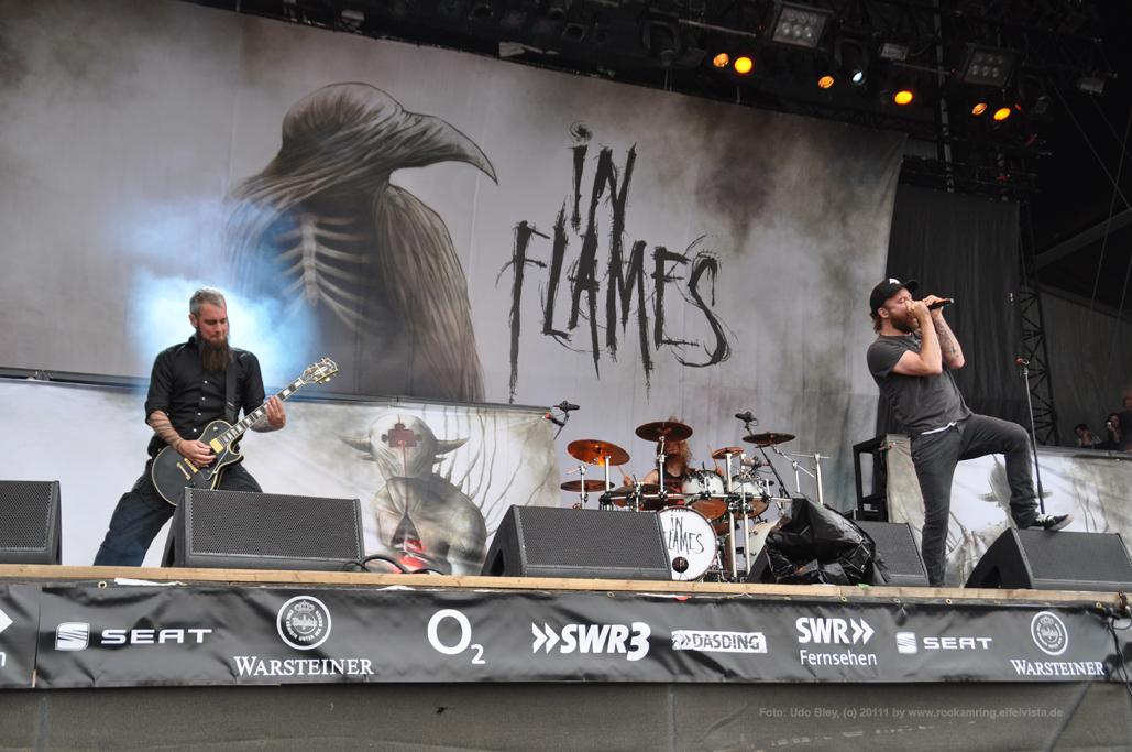 In Flames canceln Tour 2014 – auch Rock am Ring und Rock im Park
