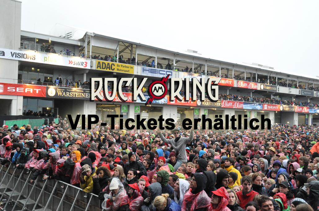 VIP-Tickets für Rock am Ring erhältlich