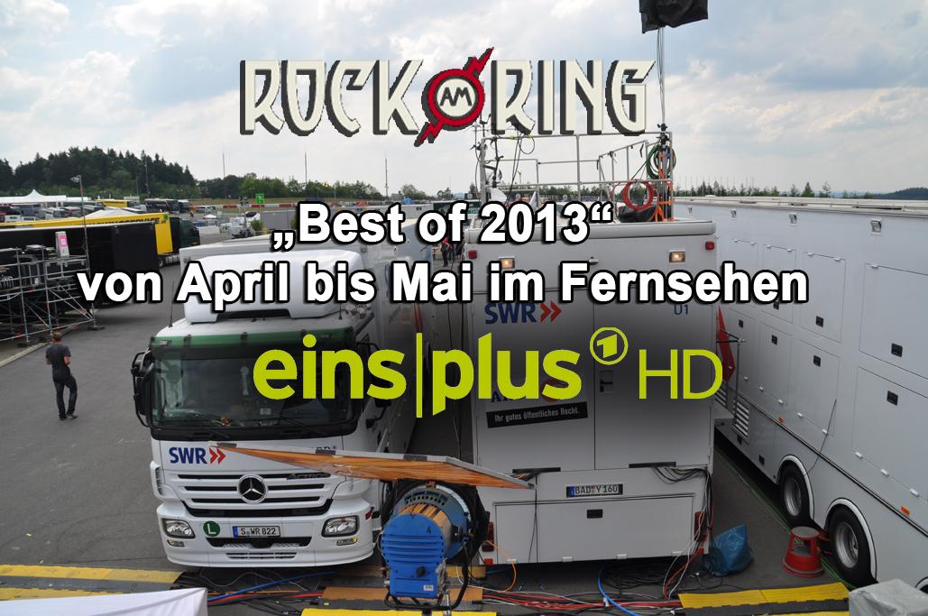 """EinsPlus zeigt """"Best of Rock am Ring 2013"""" im Free-TV"""
