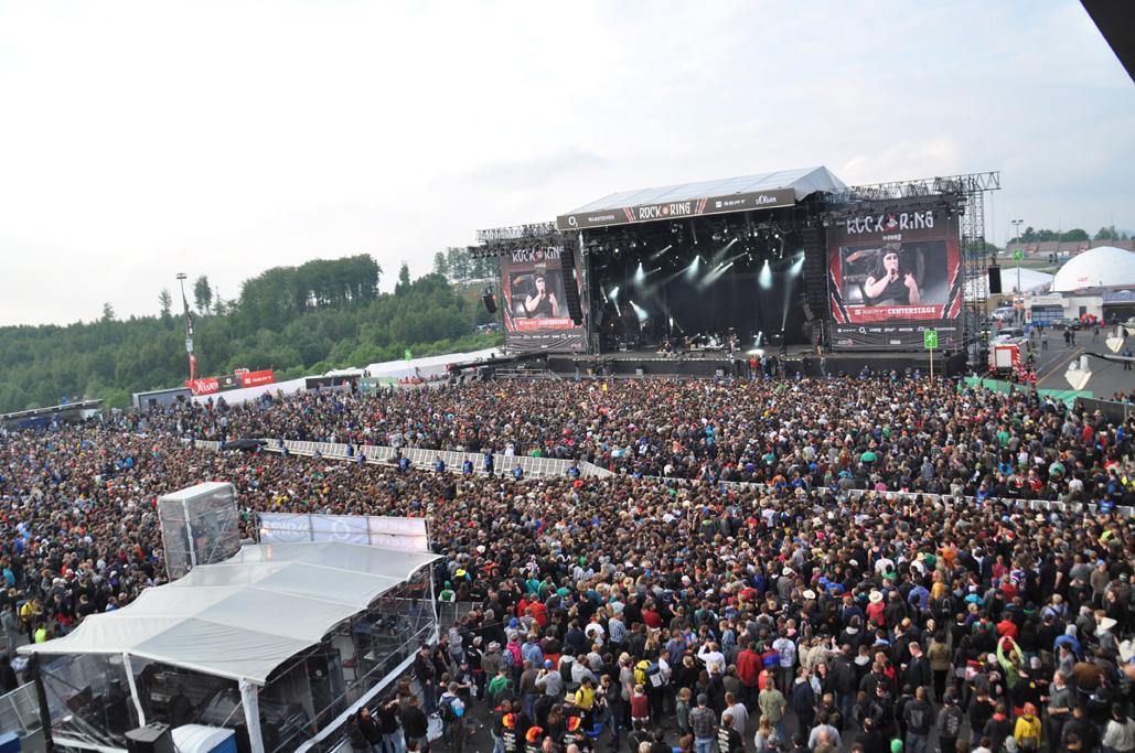 Rock am Ring gibt weitere Bands und Spielplan inklusive Spielzeiten bekannt