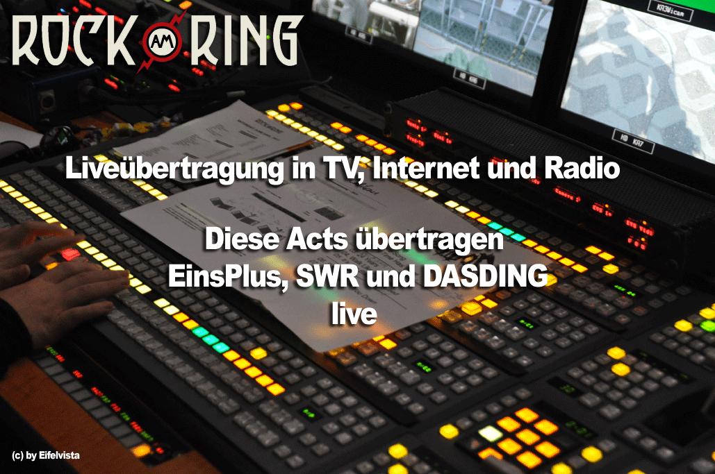 Rock am Ring 2014 in TV, Internet & Radio