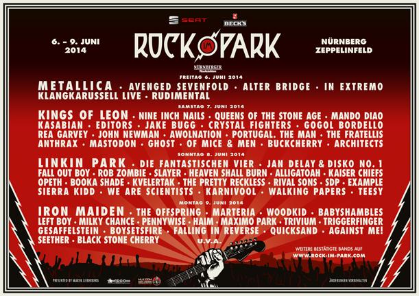 Limitiertes Kontingent an Tageskarten für Rock im Park erhältlich
