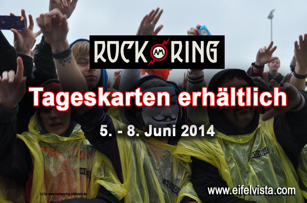Ab sofort Tageskarten – Nur noch 5.000 Festival-Tickets für Rock am Ring