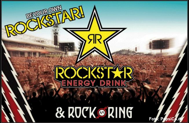 Rockstar sorgt für den Energy-Kick bei Rock am Ring