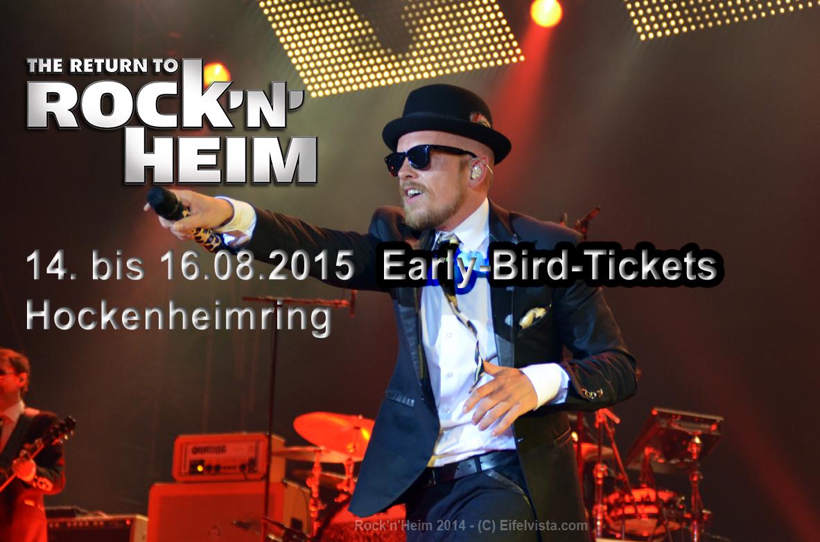 """""""Rock am Ring""""-Veranstalter MLK startet Vorverkauf für """"Rock'n'Heim 2015"""""""