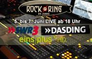 Rock am Ring drei Tage live auf EinsPlus HD – Livestreams auf SWR3 und DASDING