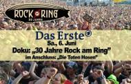 """Doku: """"30 Jahre Rock am Ring"""" am 6. Juni im """"Ersten"""" – Konzert """"Die Toten Hosen"""" im Anschluss"""