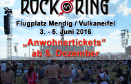 Rock am Ring 2016 – Tickets für Anwohner ab 5. Dezember