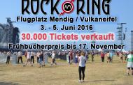 Bester Vorverkaufsstart der Rock am Ring-Geschichte – Bereits 30.000 Tickets verkauft