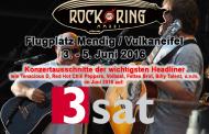 3Sat zeigt erstmals drei Stunden Rock am Ring-Highlights