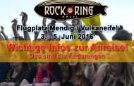 Wichtige Infos und Änderungen zur Anreise für Rock am Ring Besucher