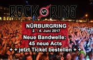 """45 neue Acts für """"Rock am Ring"""" – noch 10.000 Tickets verfügbar"""