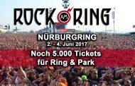 5.000 Tickets für Ring und Park, dann ist ausverkauft