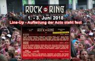 Rock am Ring Line-Up 2018 – Tagesaufteilung steht fest