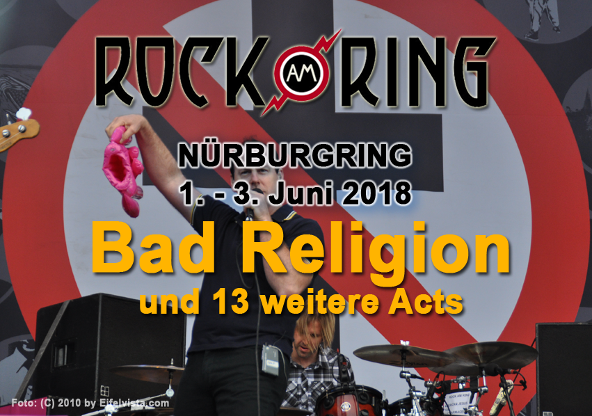 """Dritte Bandwelle: """"Bad Religion"""" und weitere Acts auf Ring und Park"""
