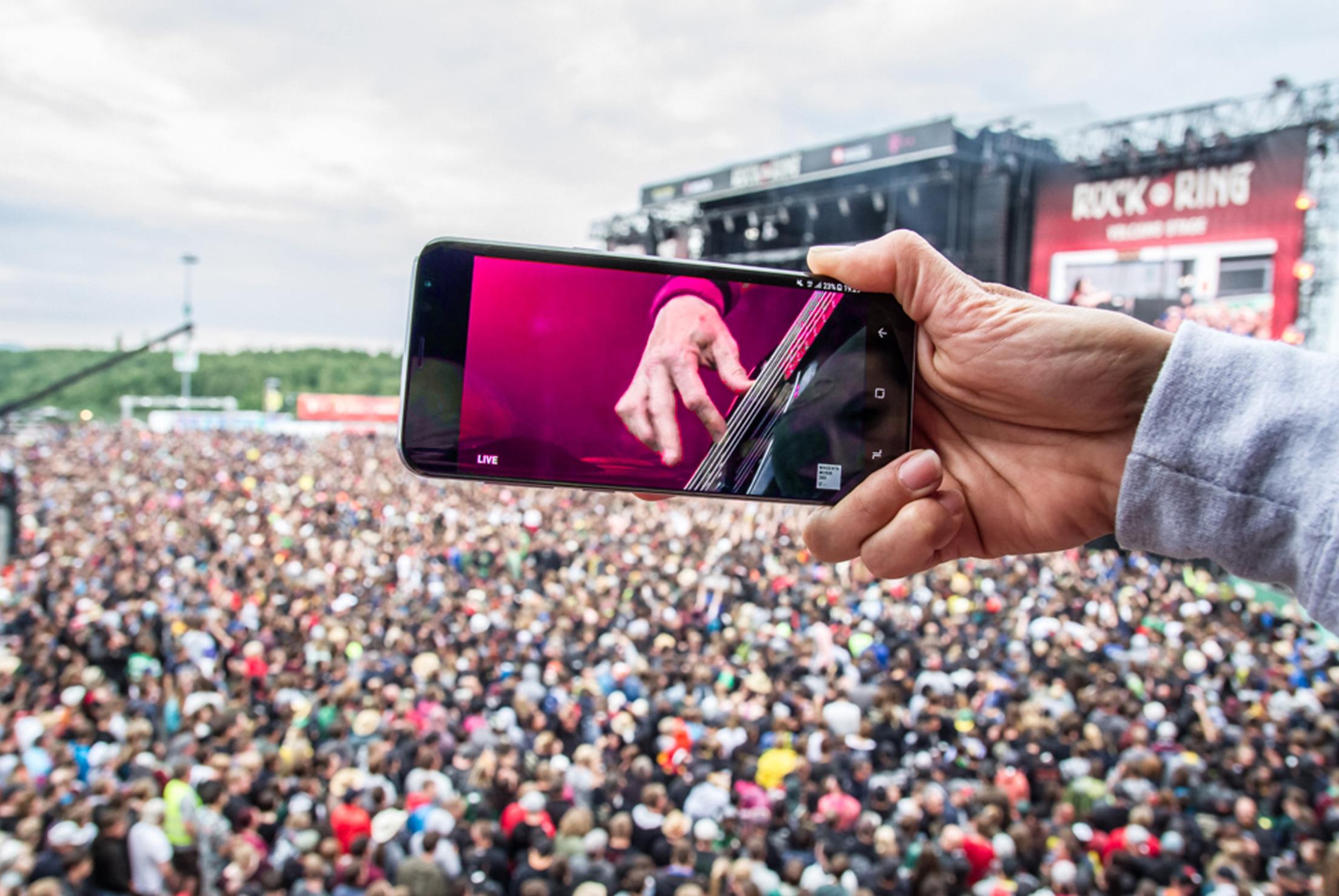 MagentaMusik 360: Rock am Ring im kostenlosen Livestream und in 360 Grad