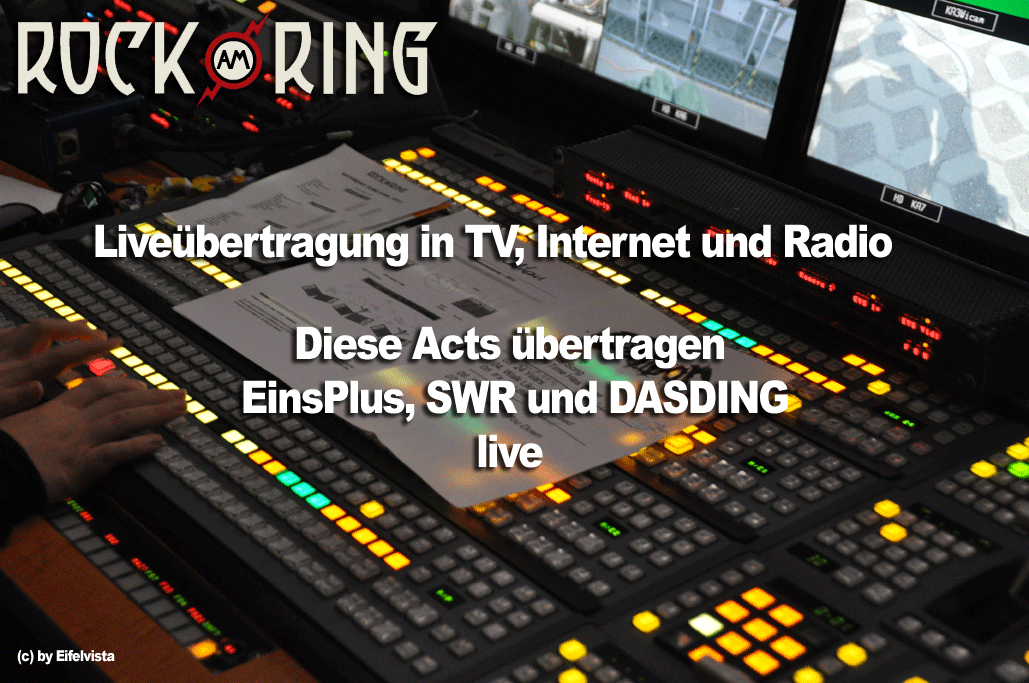 Rock am Ring 2014 in TV, Internet & Radio