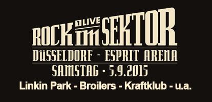 "Neues Festival in Düsseldorf ""Rock im Sektor"" – Linkin Park, Broilers und Kraftklub am Start"
