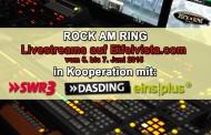 Livestreams auf Eifelvista.com – Rock am Ring Sendeplan Sonntag