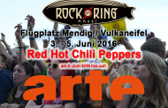 ARTE zeigt Red Hot Chili Peppers live bei Rock am Ring