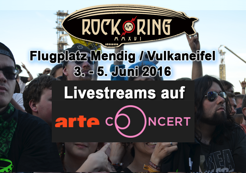ARTE Concert mit Livestreams von Rock am Ring