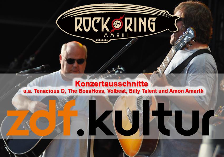 Rock am Ring 2016 im Free-TV auf ZDF Kultur
