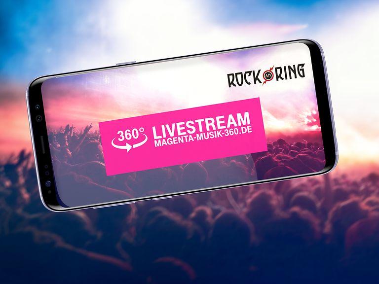 """Telekom zeigt """"Rock am Ring"""" erstmals live im HD-Livestream in 360°"""
