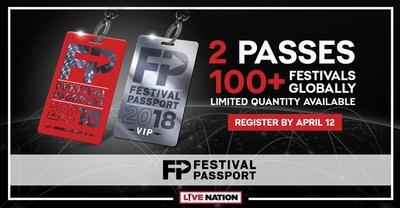 Festival Passport: Live Nation ermöglicht Eintritt zu mehr als 100 Festivals rund um den Globus