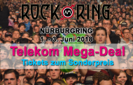 Telekom Mega-Deal: Rock am Ring Tickets zum Sonderpreis