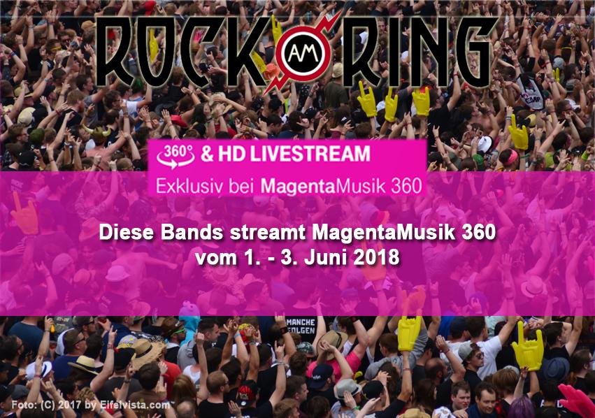 Telekom streamt 35 Konzerte weltweit live von Rock am Ring - Das sind die Acts