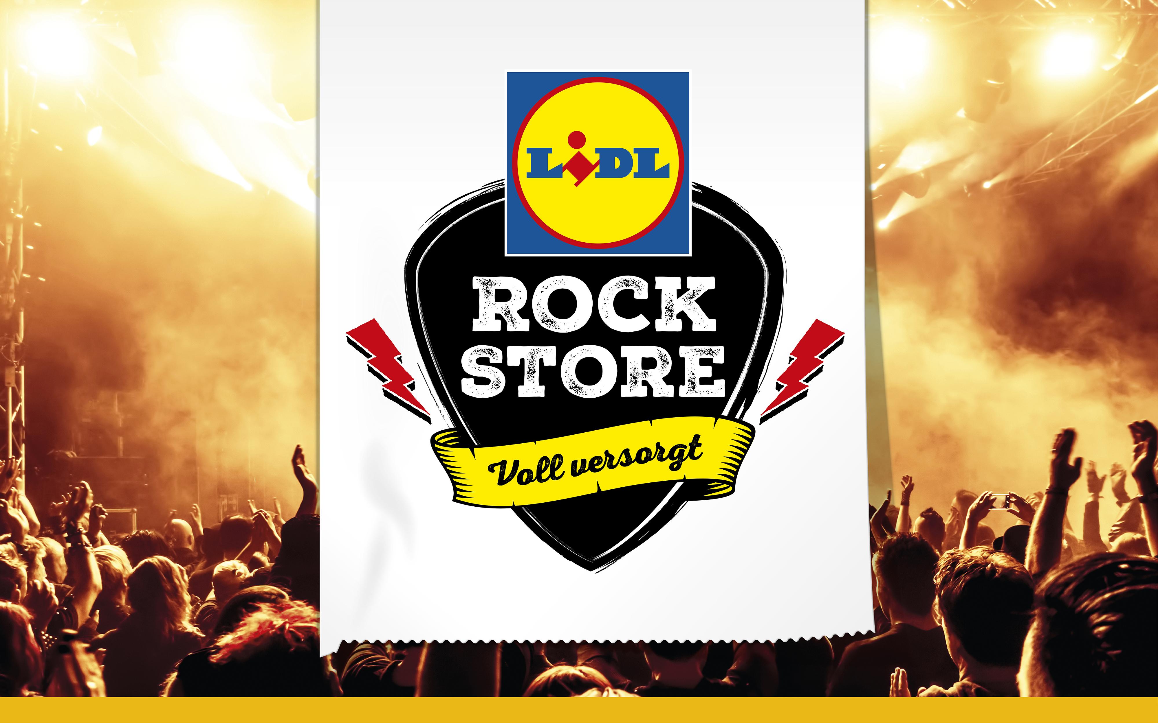 """""""Lidl Rock Stores"""" bei Rock am Ring und Rock im Park"""