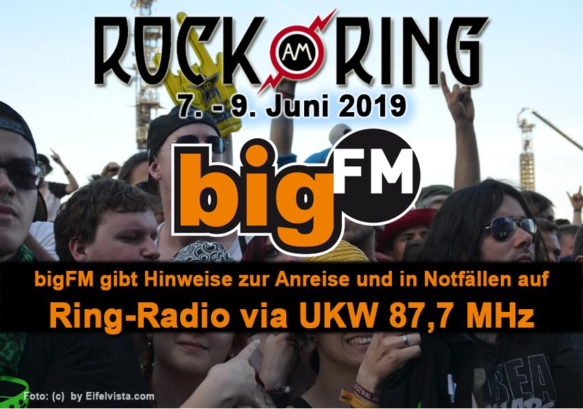 bigFM: Ring Radio für Festivalbesucher auf UKW 87,7