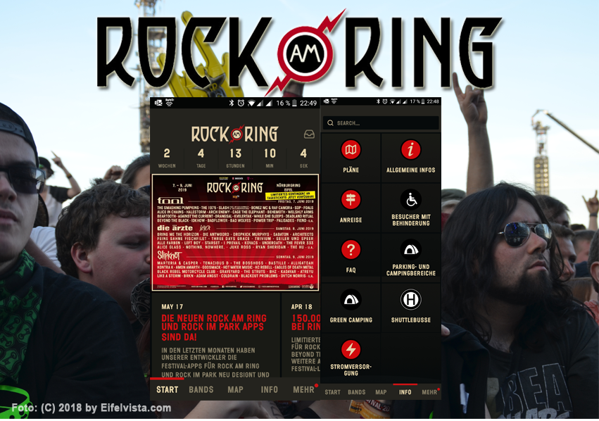 MLK relauncht Rock am Ring App