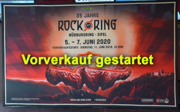 Line Up Rock Am Ring 2019