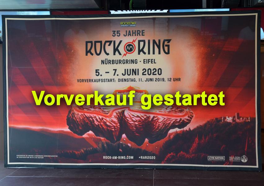 35 Jahre Rock am Ring – Vorverkauf gestartet